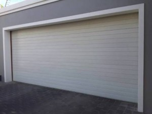 steel sectional garage door